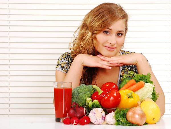 Эта диета подразумевает употребление овощей в большом количестве