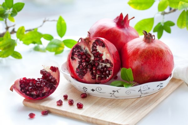Гранат помогает повысить уровень гемоглобина