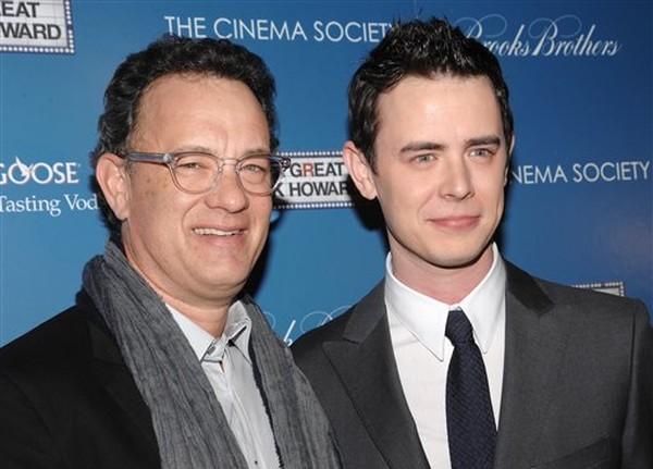 54-летний Том Хэнкс с сыном Колином