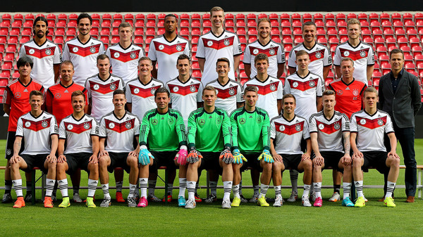 Состав немецкой команды по футболу