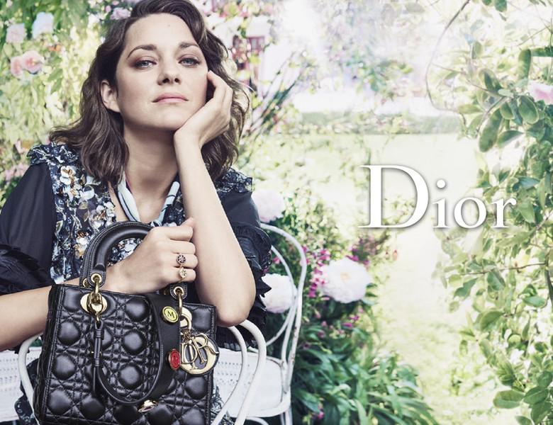 ������ ������� ������� � ����� �������� Dior