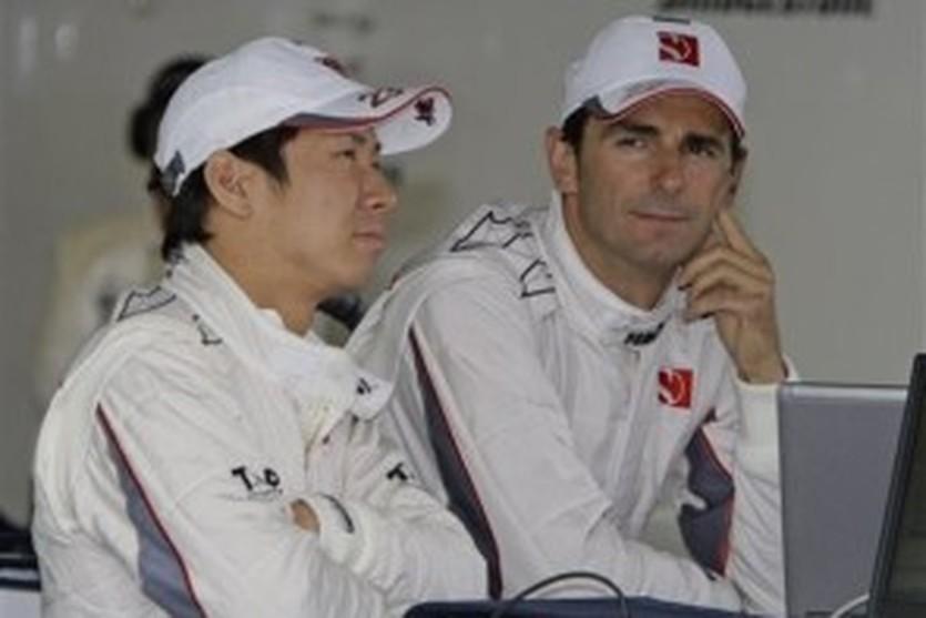 Кобаяши и Де ла Роса, фото АР