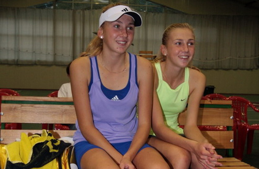 Сестры Киченок, sapronov-tennis.org