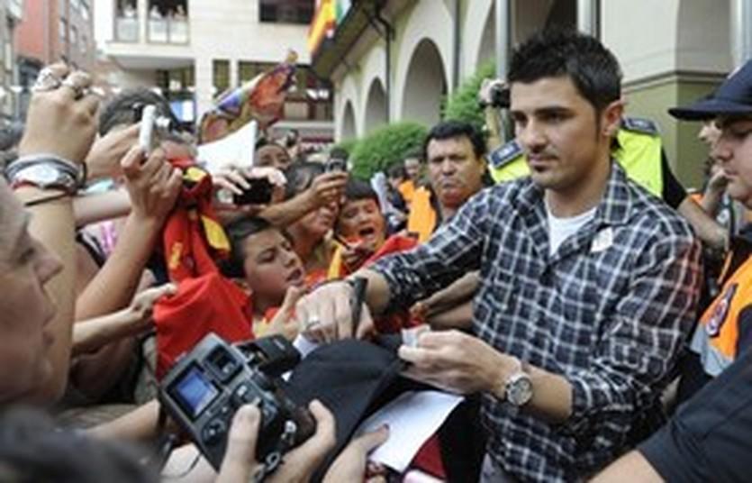 Давид Вилья, Reuters