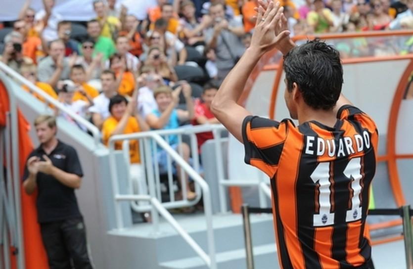 Эдуардо да Силва, фото ФК Шахтер
