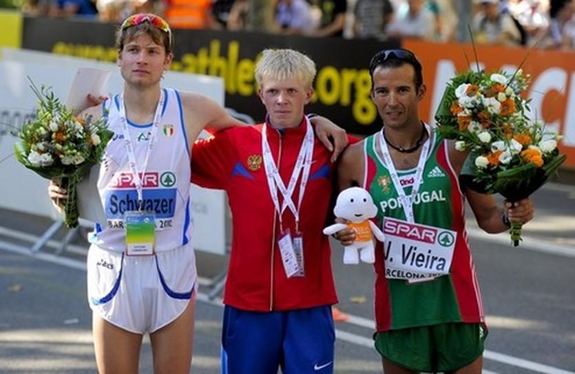 Ходоки - первые призеры ЧЕ-2010, daylife.com