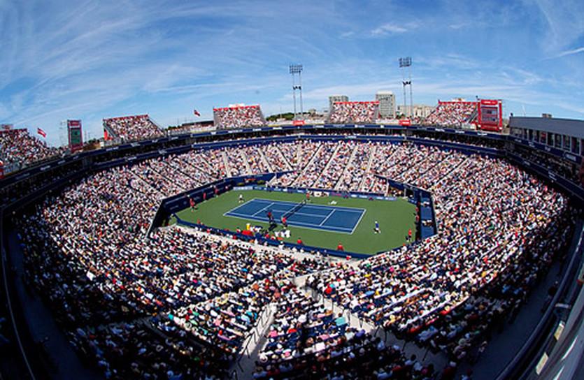 Теннисный стадион в Торонто, фото tennisrevue.com