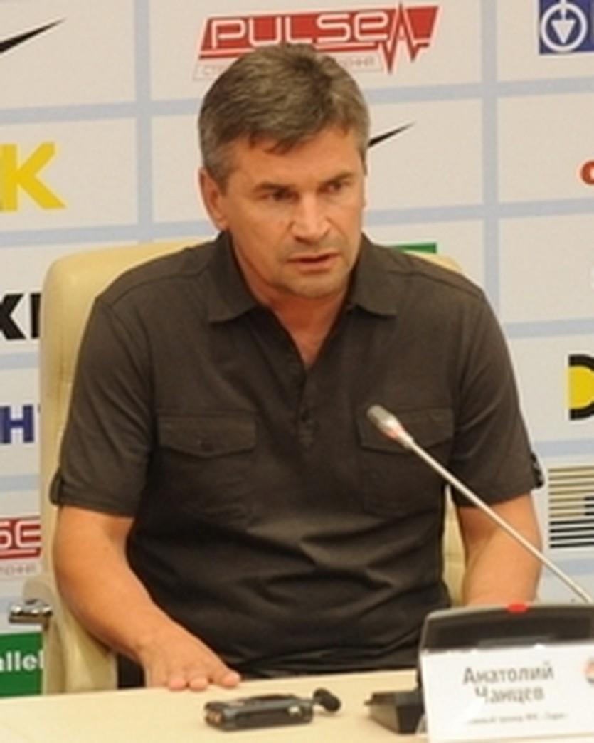 Анатолий Чанцев, фото ФК Шахтер