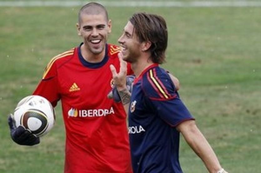 """Вальдес - Рамосу: """"Ничего вы не выиграете, Серый - Та ладно, Витек!"""""""