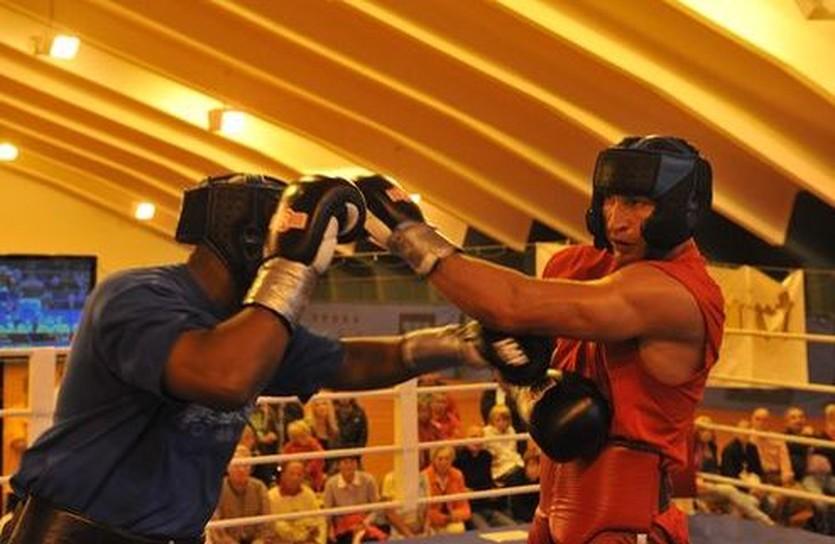 Фото из тренировочного лагеря Кличко