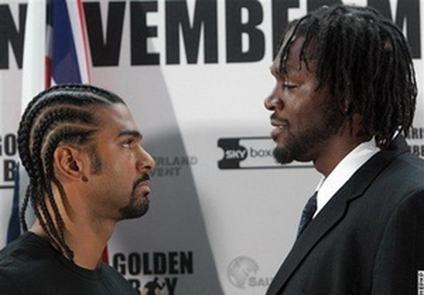 Хэй и Харрисон, boxingScene.com