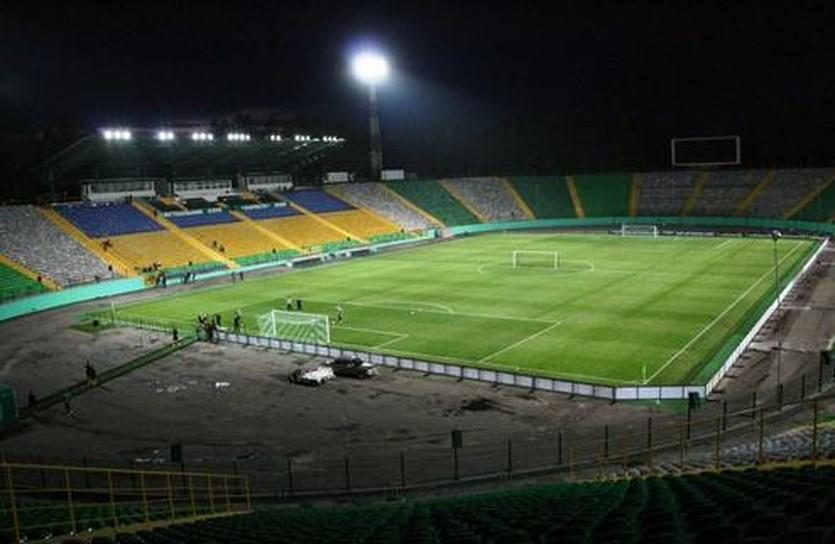 Стадион готовится к сражению, фото galsports.com