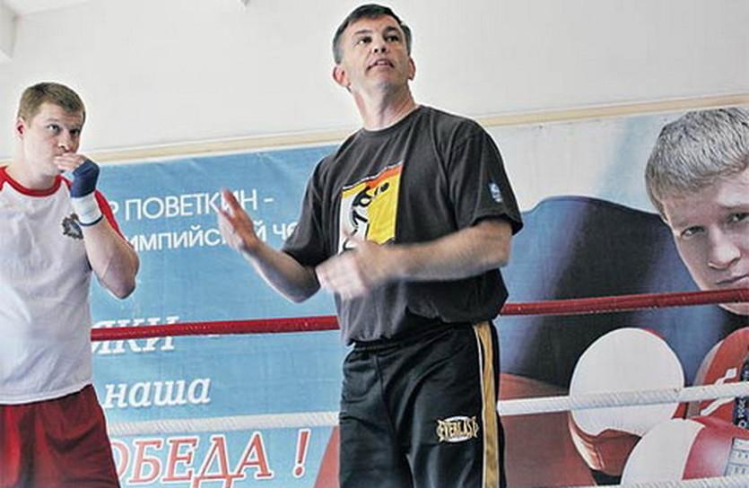 Атлас и Поветкин, фото пресс-служба Александра Поветкина