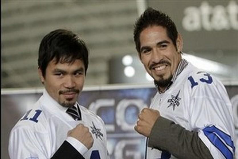 Мэнни Паккьяо и Антонио Маргарито, фото AP