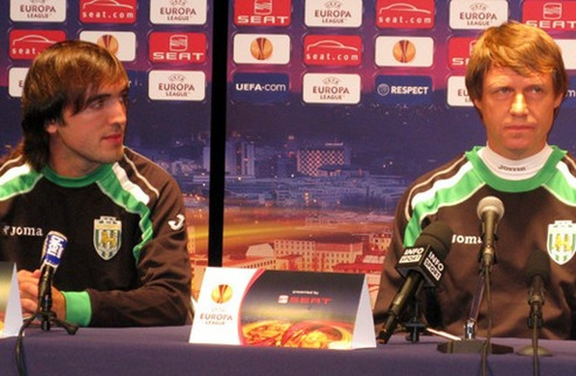 Олег Кононов и Сандро Гурули, фото psg.fr