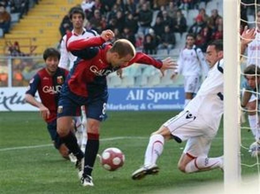 Паласио забивает, фото AP