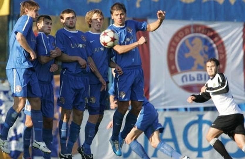 Оборона ФК Львов не устояла, фото fclviv.com.ua