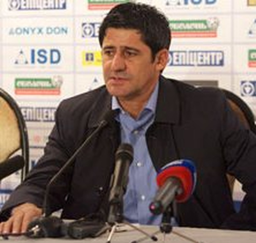 Николай Костов, фото ФК Металлург Д