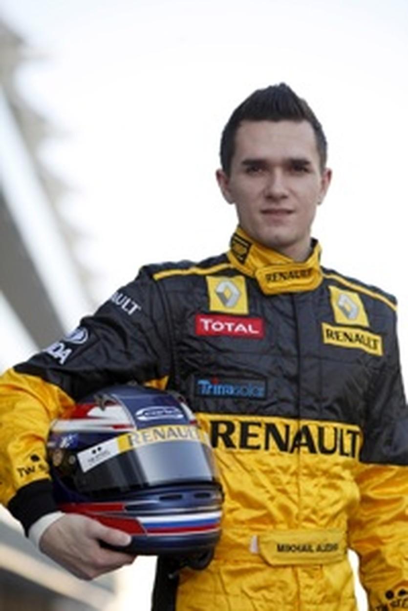 Михаил Алешин, фото Renault F1 Media