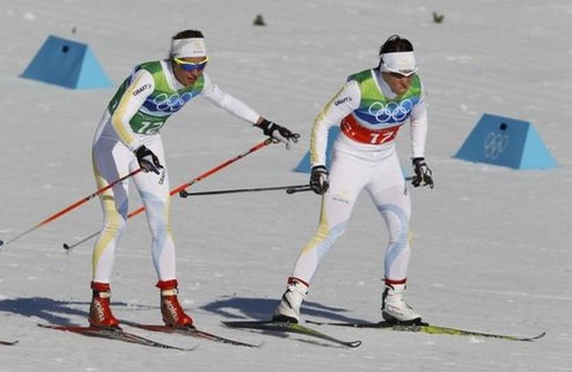 Олимпийские чемпионки Анна Хааг и Шарлотта Калла, Reyters