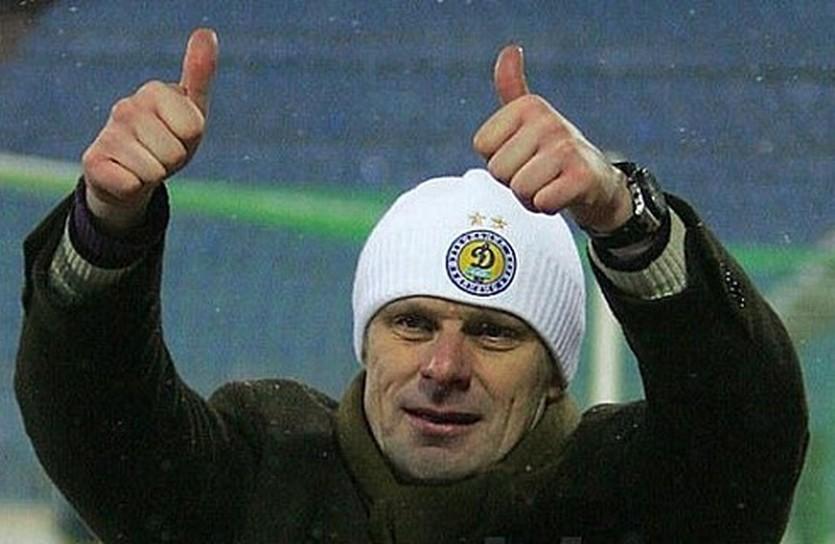 Олег Лужный, фото ФК Динамо