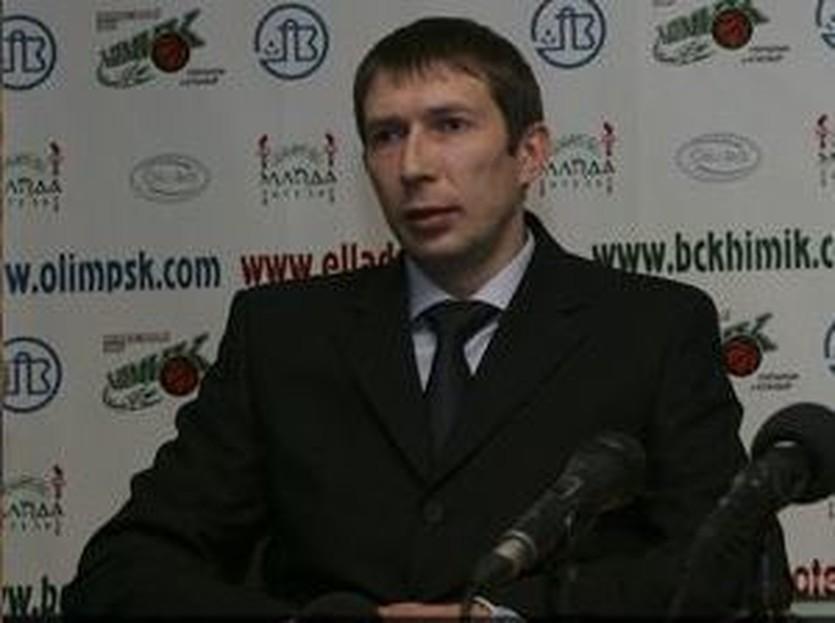 Олег Юшкин, фото БК Химик