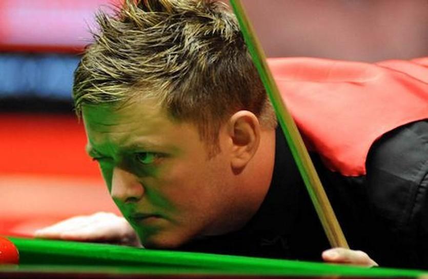 Аллен видит цель, но не видит О'Салливана, фото worldsnooker.com