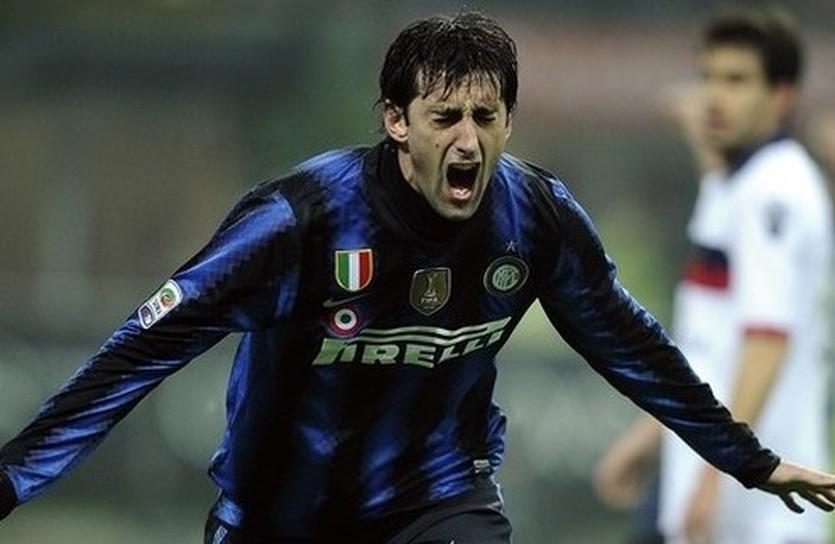 Диего Милито забил, Getty Images