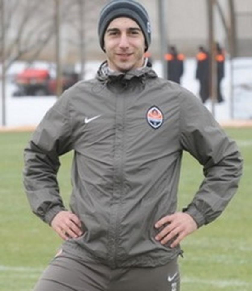 Генрих Мхитарян, фото ФК Шахтер