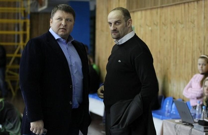 Анатолий Буряк и Звездан Митрович, фото superleague.ua