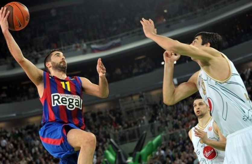 Наварро вновь вытянул Барселону, Getty Images
