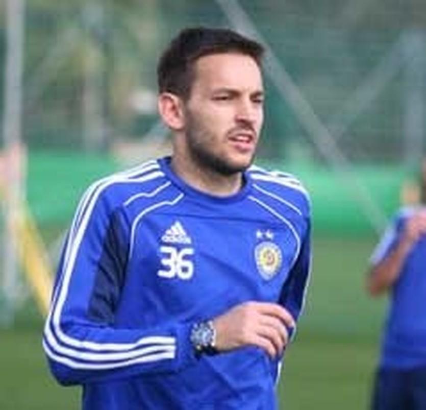 Милош Нинкович, фото ФК Динамо