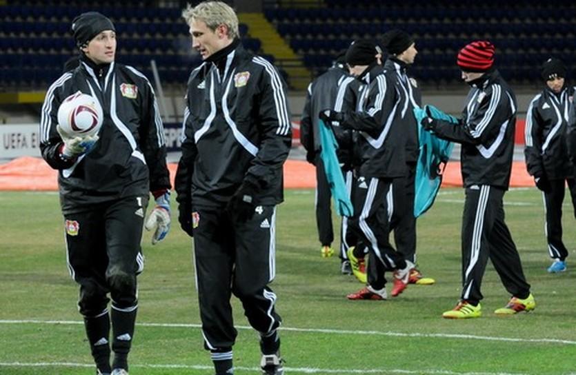 Тренировка Байера, фото Д.Неймырка, football.ua