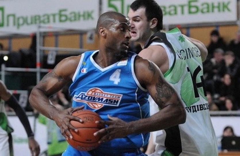 Азовмаш от Будивельника не увернулся, фото Ильи Хохлова, iSport.ua