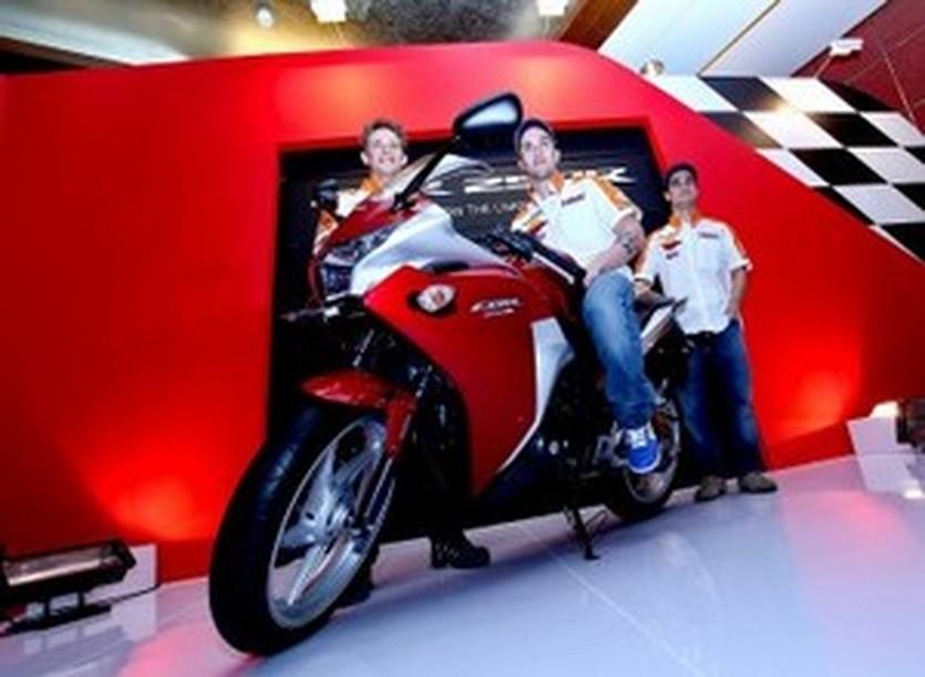 Представление Репсоль Хонды в Джакарте, motogp.com
