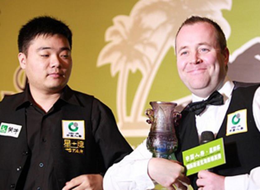 Дин Джуньху и Джон Хиггинс, P147.com