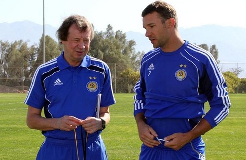 Юрий Семин и Андрей Шевченко, фото tsn.ua