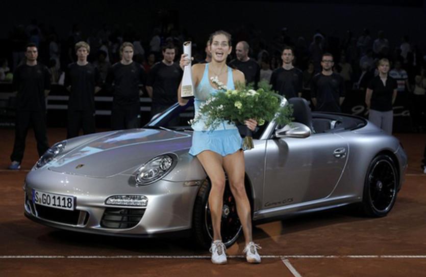 Юлия Гергес с призом, Reuters