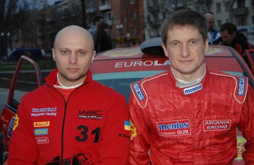 Вадим Чернега и Валерий Горбань, Mentos Ascania Racing