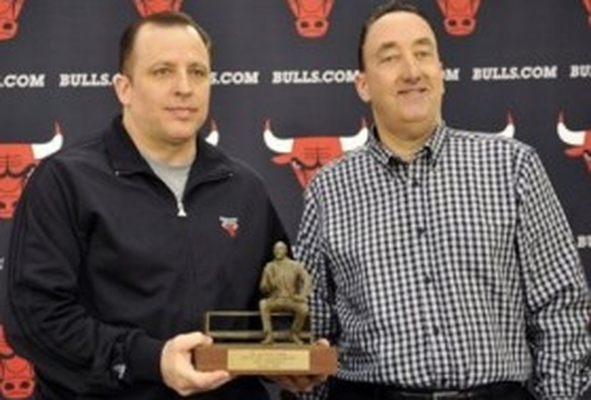 Том Тибодо (слева) - Тренер года в НБА, АР