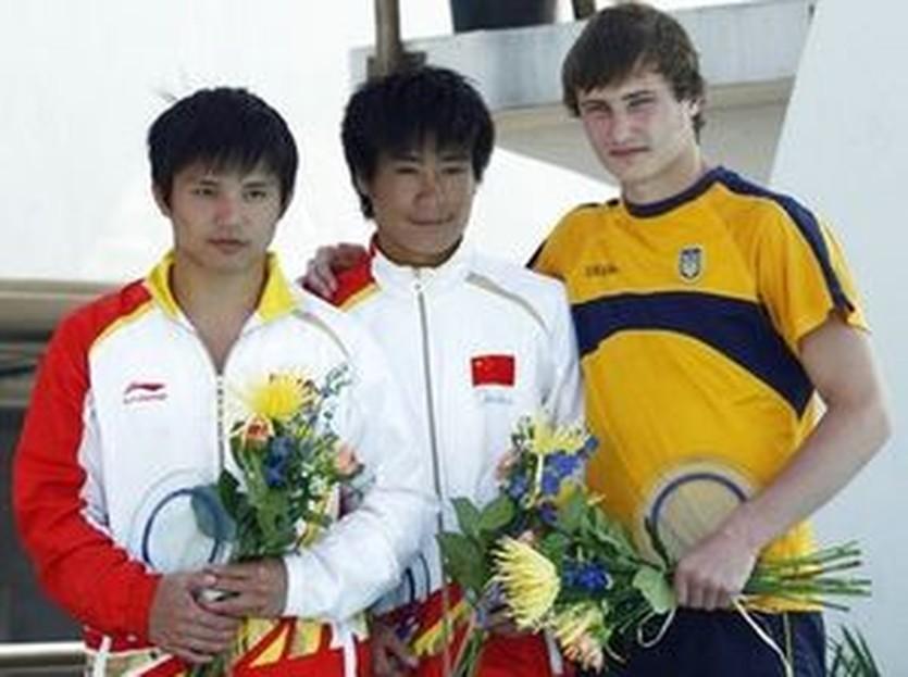 Трио призеров на 10-метровой вышке, AP