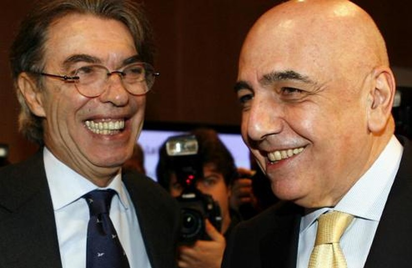 Моратти и Галлиани вместе, фото sport.it