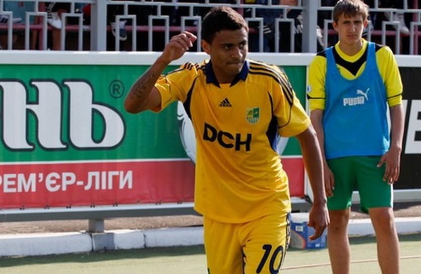 Клейтон Шавьер, фото А.Осипова, football.ua