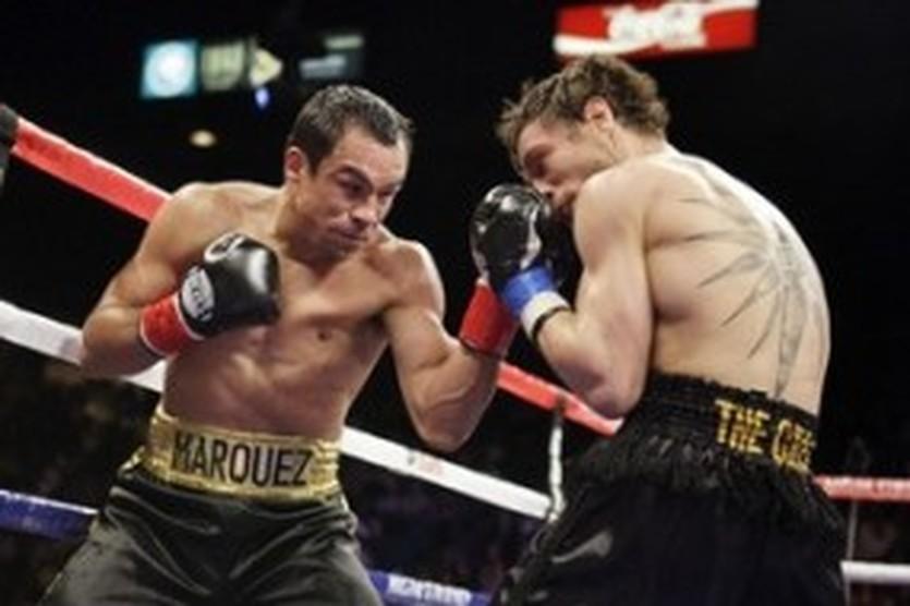 Хуан Мануэль Маркес (слева), Reuters