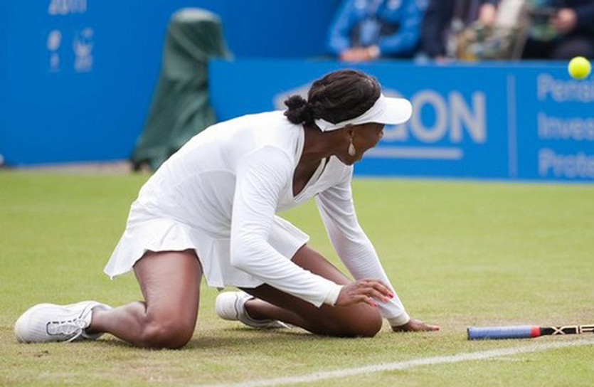 Без падений не обошлось, Getty Images