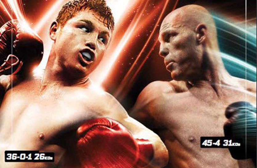 фрагмент постера к поединку Альварес - Роудс, HBOboxing.com