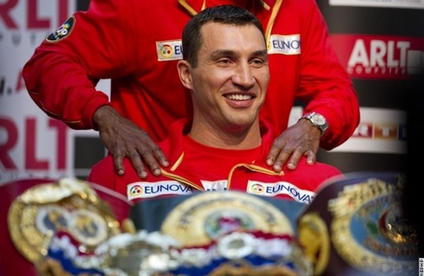 Владимир Кличко, boxingscene.com