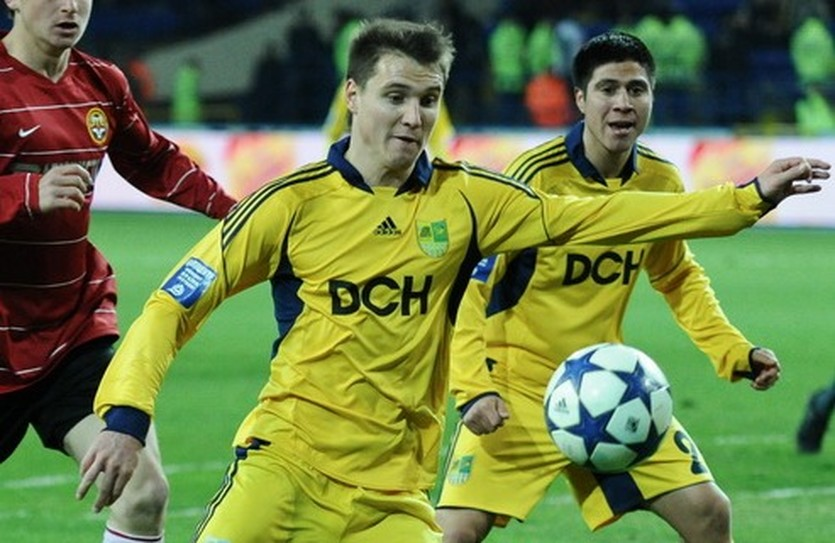 Денис Олейник, фото Д.Неймырока, football.ua