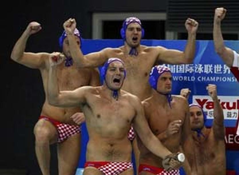 Хорваты радуются медали, Reuters
