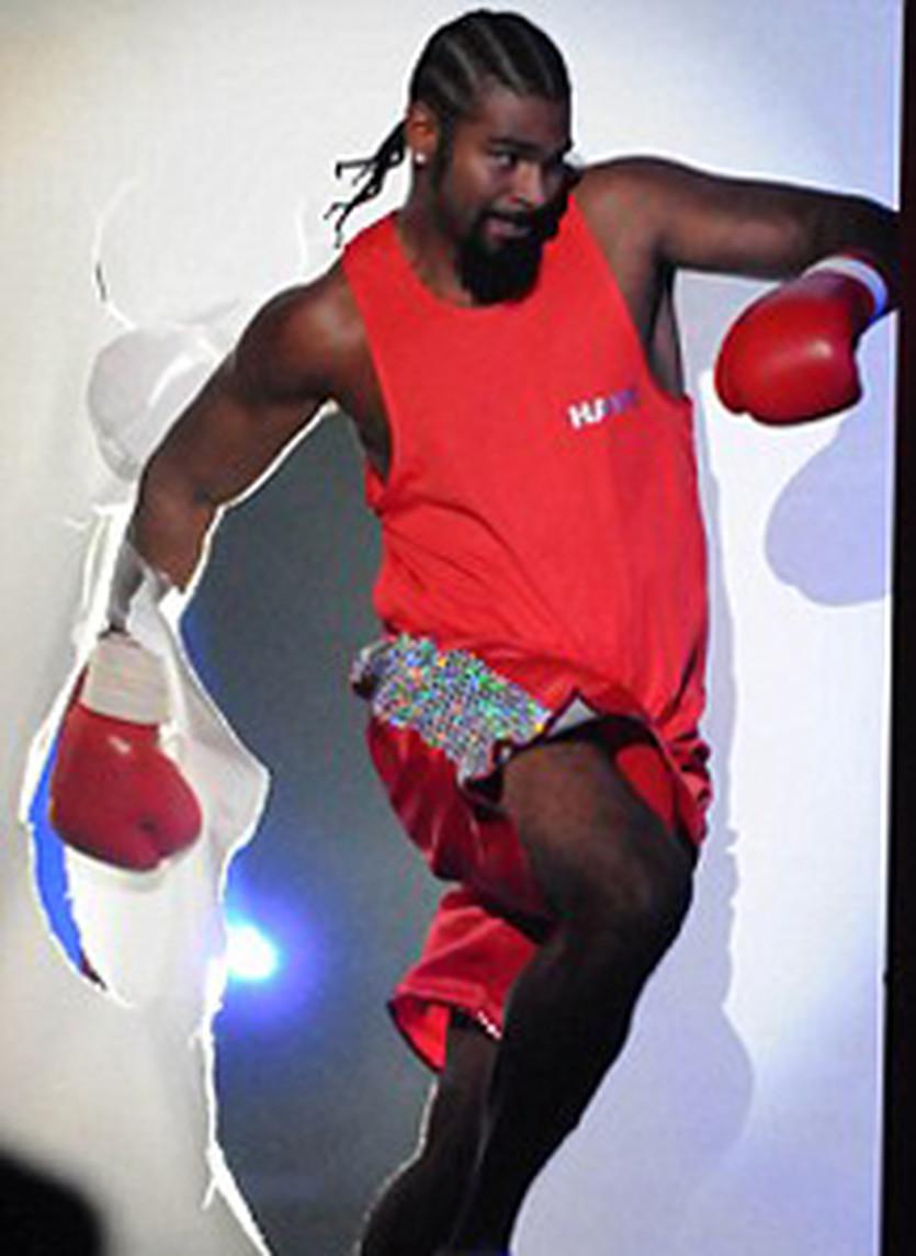 Дэвид Хэй на телешоу,  boxrec.com